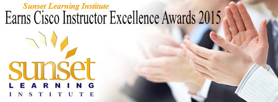 2015 Instructor Excellence Award Banner