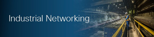 Industrial Networking Aisle Banner